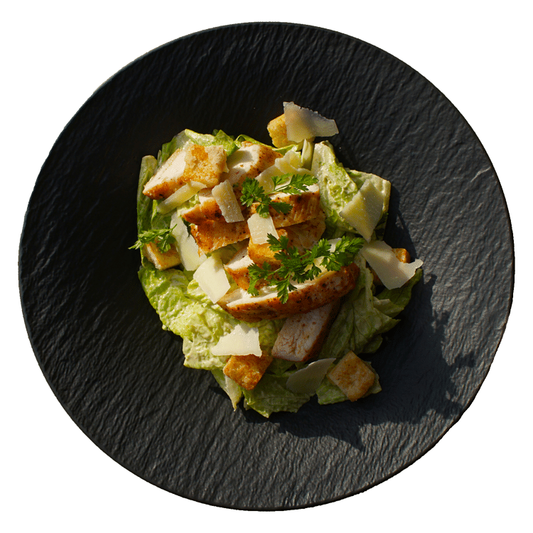 Caesar salát, grilovaná kuřecí prsa, krutony (1,3,4,7,10)